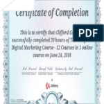 Digital Marketing Courses Certificate and Digital Marketing Course On Udemy