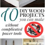 Great Woodworking Projects Without Power Tools and Woodworking Projects For House
